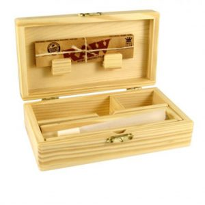 ROLLING SUPREME WOODEN ROLLING BOX T2