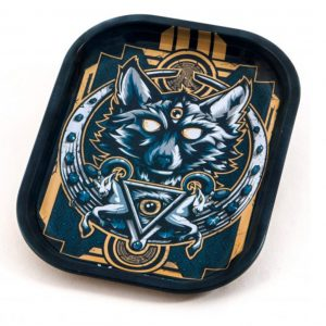V SYNDICATE WOLF METAL ROLLING TRAY