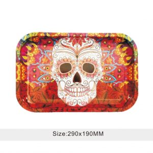 DAY OF THE DEAD ROLLING TRAY
