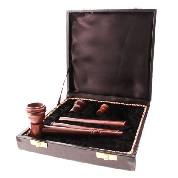 Boxed Wooden Pipe