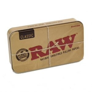 Classic Raw Tin fully printed on outside